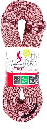 Fixe - Sport 9.9 - Cuerda de Escalada, Rojo, 60 M: Amazon.es ...