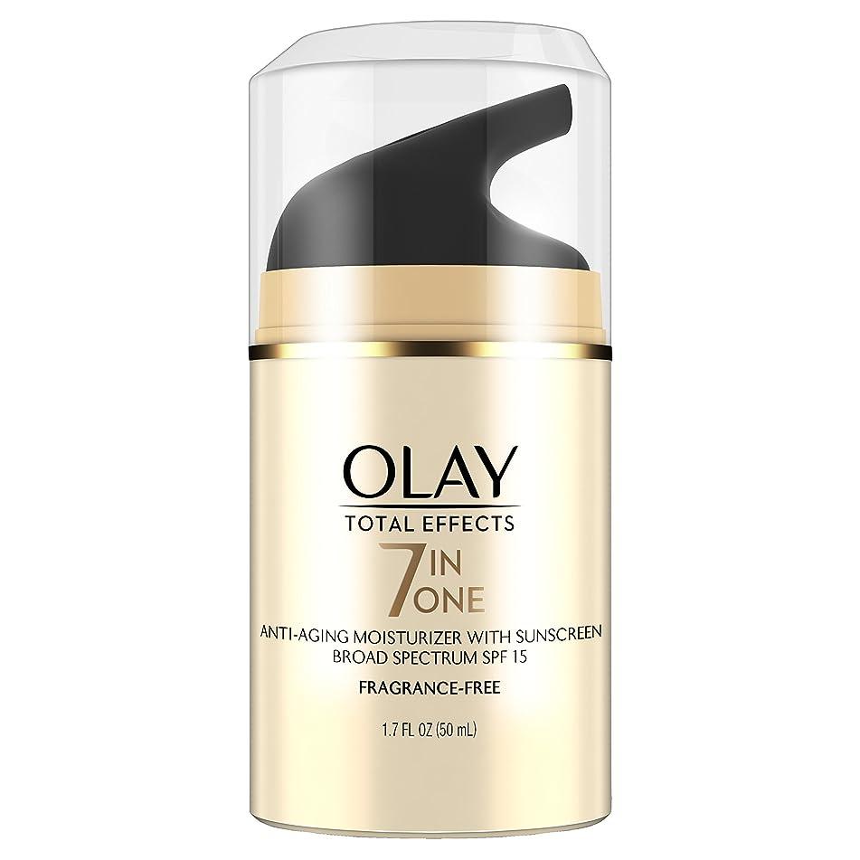 OLAY 全效无香型轻量级保湿霜, SPF 15,1.7液体盎司, 1.7 液盎司, SPF 15