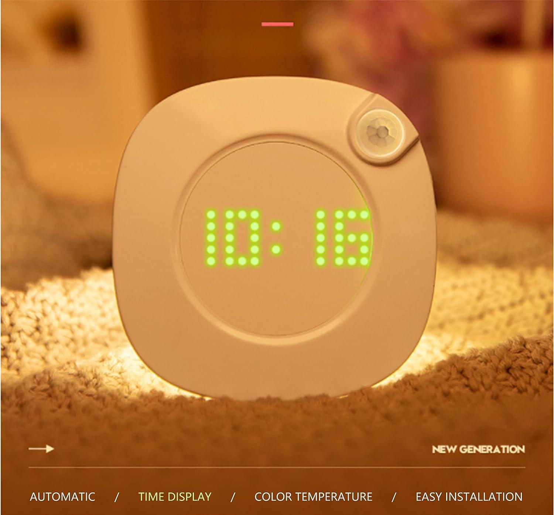 VIAI Human Body Induction Night Max 82% OFF Lamp Clock Ni Sensor Animer and price revision Motion Wall