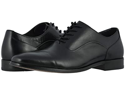 Florsheim Jetson Cap Toe Oxford (Black Smooth) Men