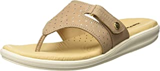 Hush Puppies Women's Bella_Thong Leather Slippers