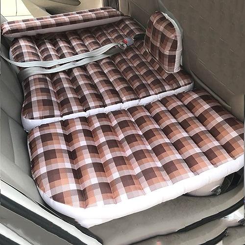 XF Lit Gonflable-Voiture Lit Gonflable Lit de Voyage arrière Siège arrière de Voiture SUV Matelas de Couchage