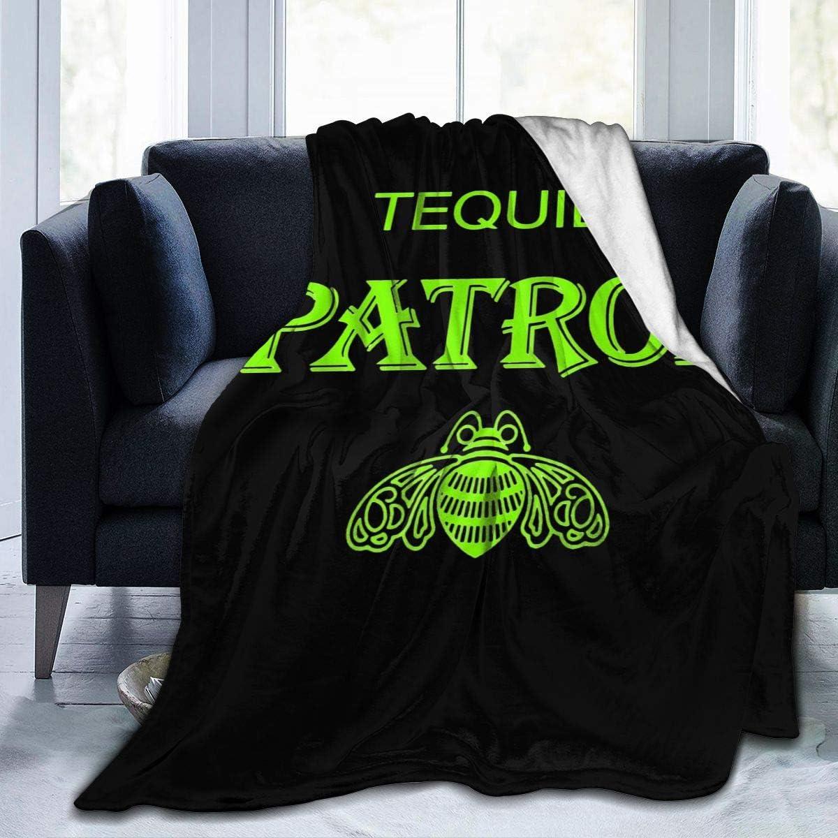 NOT Patron Tequila Logo Micro Fleece Blanket Max 88% OFF Ultra-Soft Las Vegas Mall