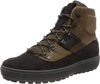 ECCO Men's Soft 7 Tred M Blackcocoa Brownblack Sneaker