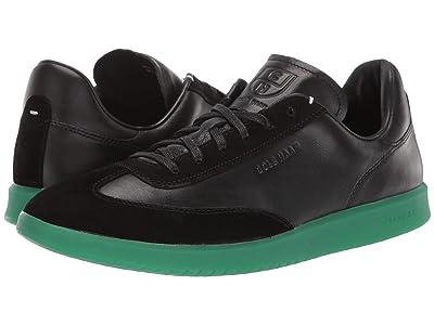 Cole Haan Grandpro Turf Sneaker (Black/Green Translucent) Men