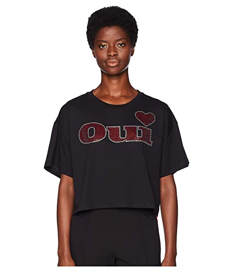 """The Kooples T-Shirt with """"OUI"""" Print at the Front"""