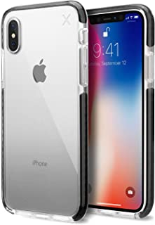 Casetify iPhone XS/X Case - Drop Protection Cover, Anti-Scratch and Dent, Wireless Charging Compatible - Clear