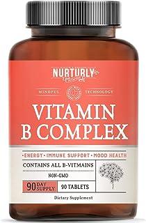 Sponsored Ad - Vitamin B Complex - Contains All Essential B Vitamins Including B1, B2, B3, B5, B6, B7, B9, B12 and Biotin ...