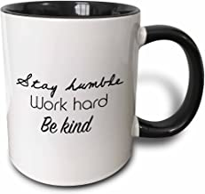 3dRose 224496_4 Take Time To Do What Makes Your Soul Happy Mug 11 oz Black