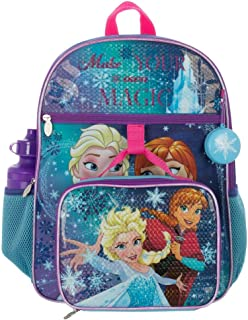Frozen Backpack and Kids Lunchbox Princess Accessories