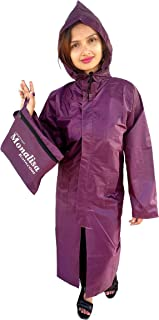 Women's Raincoat Pink|with Carry Bag