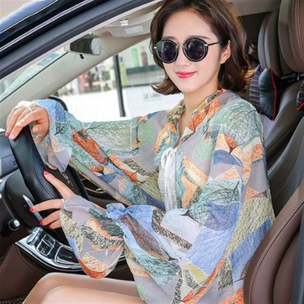 show original title Details about  /Sun uv protection woman driving sleeves gloves summer bike arm sleeves arm