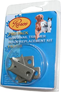 Resco Nail Clipper Blade Replacement Kit,  Fits All Resco Guillotine-Style Trimmers
