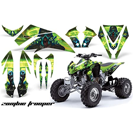 AMR Racing ATV Graphics kit Sticker Decal Compatible with Polaris Sportsman 450//570 2014-2017 Carbon X Red