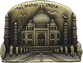3D Taj Mahal India Metal Refrigerator Magnet Travel Souvenirs Fridge Magnet Home and Kitchen Decoration Magnetic Sticker Collection