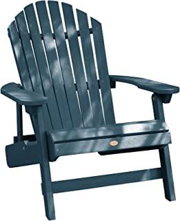 Highwood AD-KING1-NBE Hamilton Adirondack Chair, King, Nantucket Blue