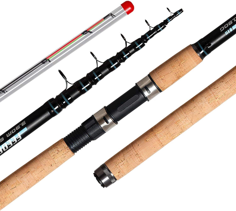 Fishing Rod Tele Method Portable Power Telescopic Professional High Carbon 3.3M 3.6M Carp Weight 60180G Obei