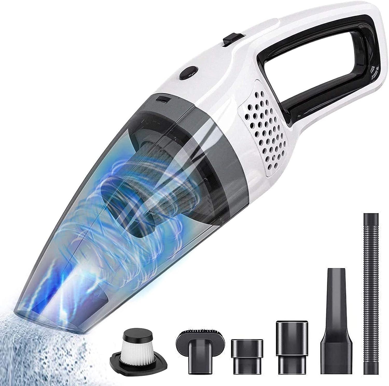 Handheld Cordless Vacuum Cleaner BOLWEO Genuine 12V Car Vac Portable Cheap SALE Start DC