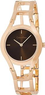 Calvin Klein Women's Analogue Quartz Watch with Stainless Steel Strap K6R2362K