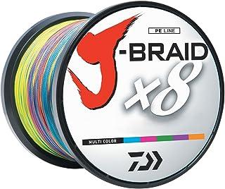 J-BRAIDX8, Bulk, Multi-Color, Mono Dia.= 50lb.