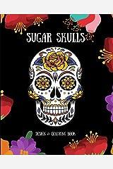 Sugar Skulls: Design & Coloring Book Paperback