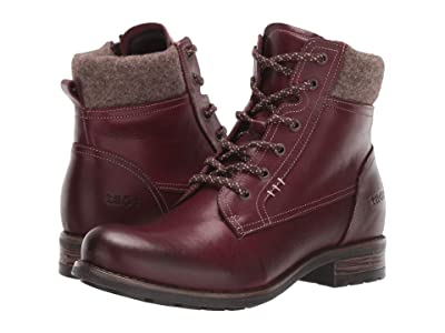 Taos Footwear Cutie (Deep Red) Women