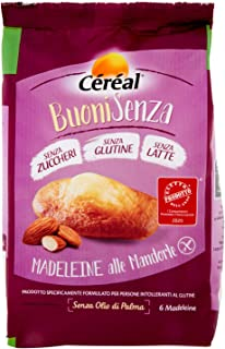 Céréal Madeleine Mandorle senza Glutine, 180g