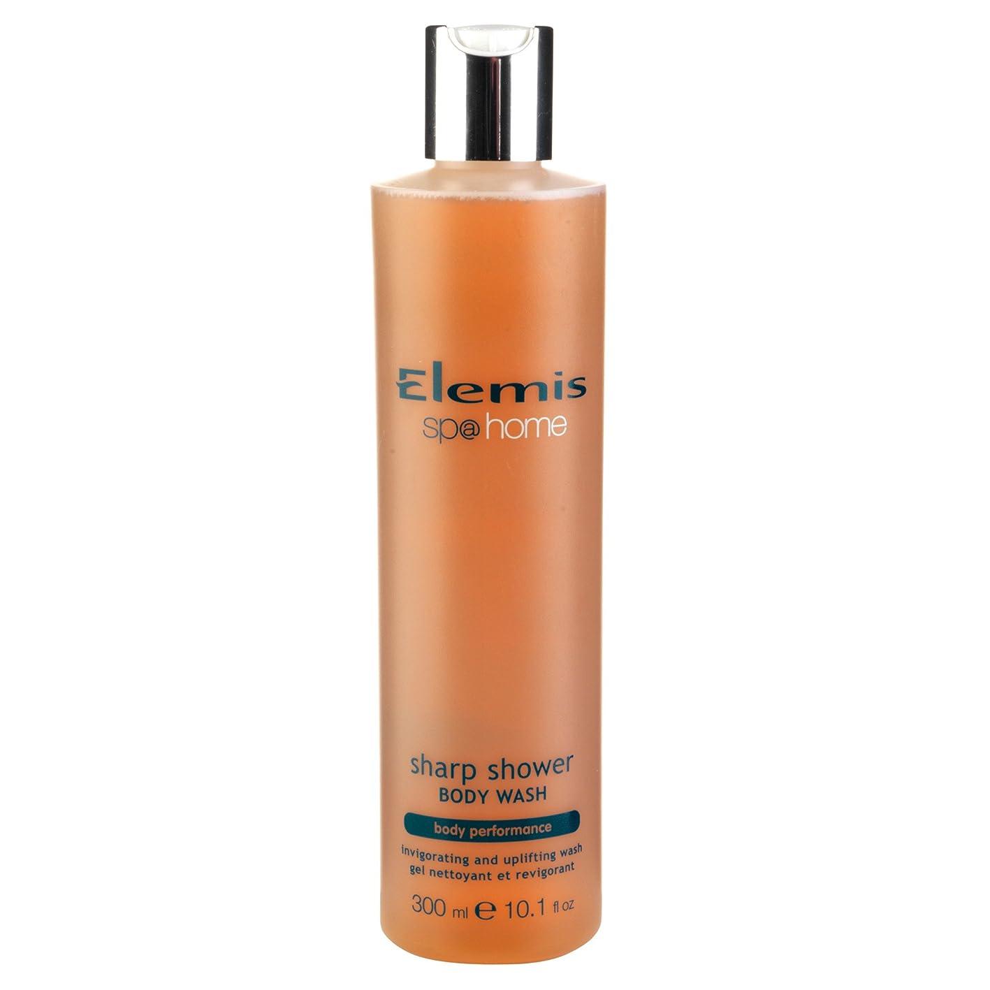 相互接続ヒープトレースエレミスシャープシャワーボディウォッシュ300ミリリットル (Elemis) (x6) - Elemis Sharp Shower Body Wash 300ml (Pack of 6) [並行輸入品]