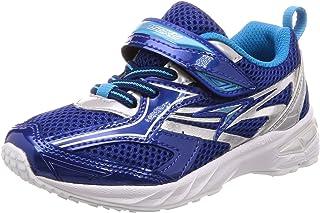 [瞬足] 运动鞋 上学用鞋 瞬足 大型钉鞋 轻量 V8 男孩 SJC 6210 ブルー白底 19 cm 2.5E