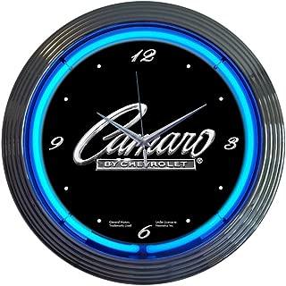 Neonetics Cars and Motorcycles Camaro Neon Wall Clock, 15-Inch