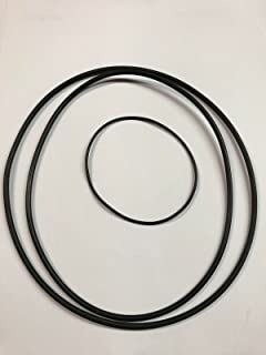 New 3 Replacement Belts AMPEX Dual Capstan 700 800 900 1000 + More Reel to Reel