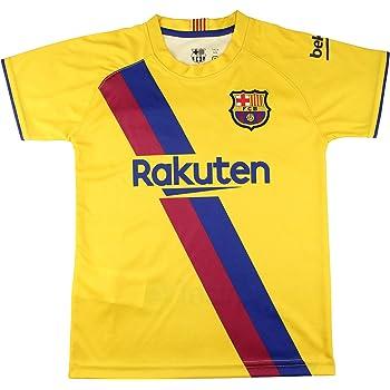 Camiseta Adulto Segunda Equipación - FC Barcelona - Réplica Autorizada: Amazon.es: Deportes y aire libre