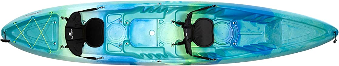 Perception Rambler 13.5 | Sit on Top Tandem Kayak For Adults | Recreational Kayak for Two | 13' 6