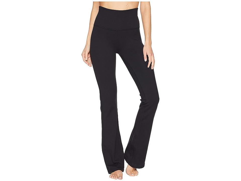 Beyond Yoga High-Waisted Practice Pants (Jet Black) Women