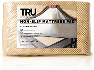 TRU Lite Bedding Extra Strong Non-Slip Mattress Grip Pad - Heavy Duty Rug Gripper- Secures Carpets and Furniture - Easy, Simple Fit - Full Size - Rug Gripper for 4' x 6' Rug