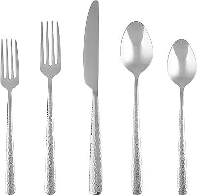 Cambridge Silversmiths Soiree Mirror 4-Piece Dinner knives Set