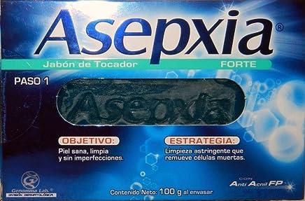 Jabon Asepxia Forte Azul - Para El Acne Exfoliante