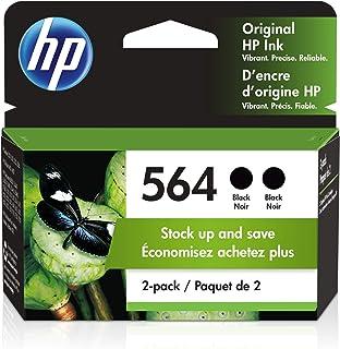 HP 564   2 Ink Cartridges   Black   CB316WN