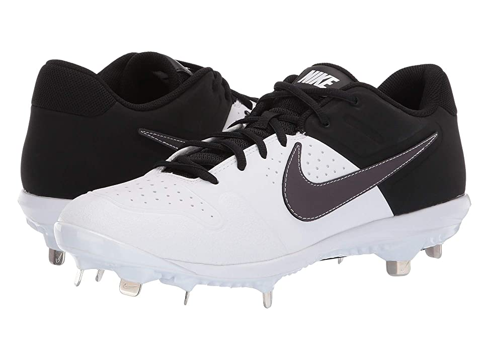 Nike Alpha Huarache Varsity Low (White/Thunder Grey/Black) Men