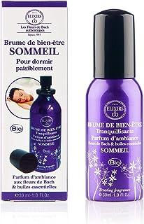 Elixirs & Co - Brume de Bien-être Réconfortante aux Fleurs de Bach & Huiles Essentielles - Sommeil - Les Fleurs de Bach - ...