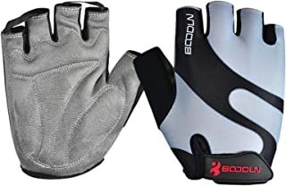 Aooaz Autumn Breathable Riding Sunscreen Non-Slip Half Finger Sports Gloves For Men And Women