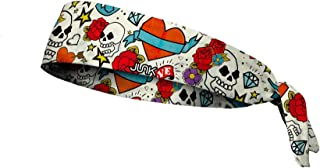 JUNK Brands Wreckless Hearts-FT Wreckless Hearts Flex Tie Headband