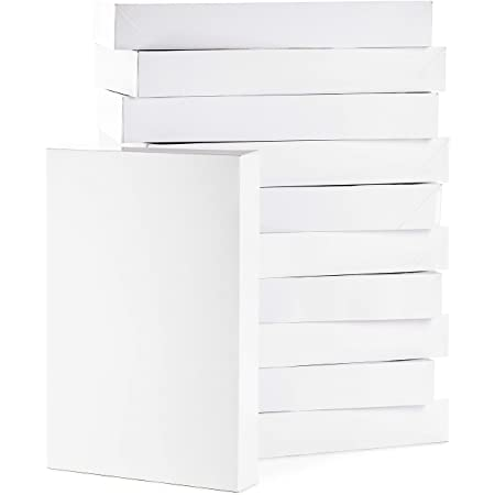 Hallmark Large Gift Boxes with Lids (12 X-Large Shirt Boxes for Sweaters or Robes) for Christmas, Hanukkah, Holidays, Father's Day, Birthdays and More