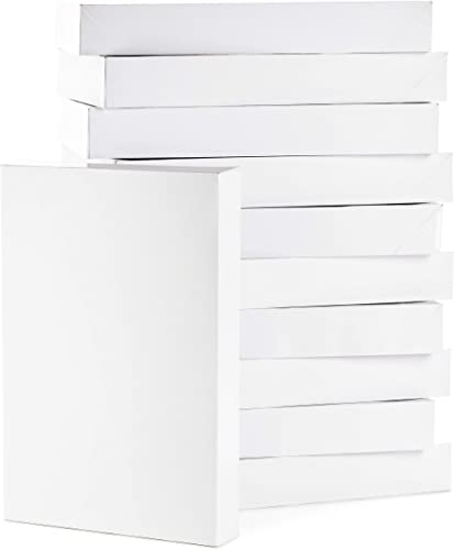 Hallmark Large Gift Boxes with Lids (12 X-Large Shirt Boxes for Sweaters or Robes) for Christmas, Hanukkah, Holidays,...