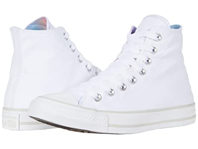 Converse Chuck Taylor All Star Gradient Patch Hi (White/Multi/Pale Putty) Women
