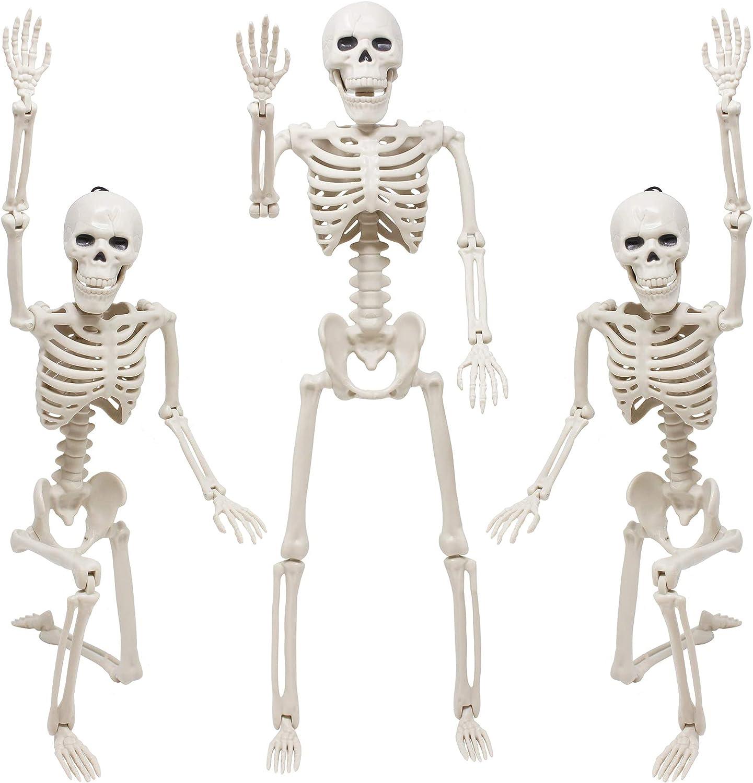 Skeleton Halloween Decoration, 3 Packs 16