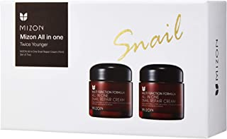 [MIZON] All in One Snail Repair Cream 75ml (75ml (2pcs))
