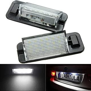 KATUR 1 Pair 12V 18 LEDs Bulb License Number Plate Light Lamps for BMW 3 Series E36 1992-1998 Car Styling LED Car Lamp
