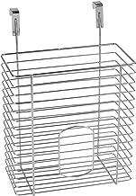 WENKO Kosz do zawieszenia, organizer do zawieszenia na szufladzie lub drzwiach szafy, bez wiercenia, nadaje się do łazienk...