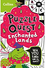 Puzzle Quest Enchanted Lands: Solve more than 100 puzzles in this adventure story for kids aged 7+ Paperback